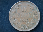 10 пенни 1915 год