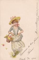 Почтовая карточка 1903 год