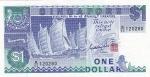 1 доллар 1987 год Сингапур